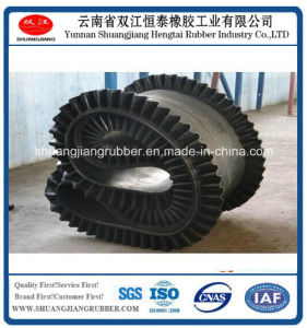 Fertilizer Conveying Belt Eith Corrugated Sidewall pictures & photos