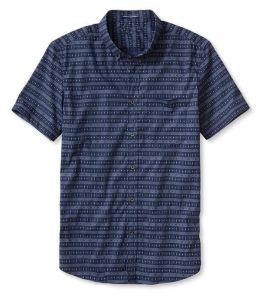 Slim-Fit Multi-Print Short-Sleeve Shirt pictures & photos