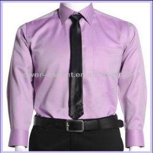 OEM Men′s Slim Fit Cotton Formal Dress Shirts pictures & photos