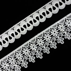 Flower Curve Trimming Lace, Lace Trim Polyester or Cotton Can Be Customized pictures & photos