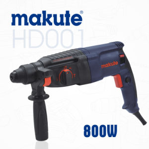 Hammer Type 26mm 800W Rotary Hammer Drill (HD001) pictures & photos