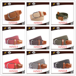 Fashion Ladies Woven Belts (HJ15002) pictures & photos