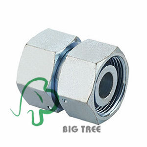 Straight Hydraulic Tube Adapter with Swivel Nut pictures & photos