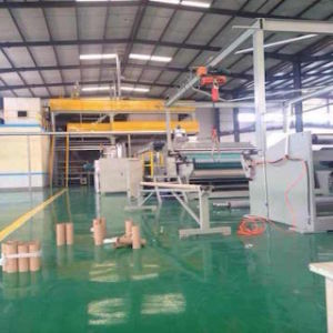 PP 1600 Single Beam Spunbonded Nonwoven Fabric Production Line pictures & photos
