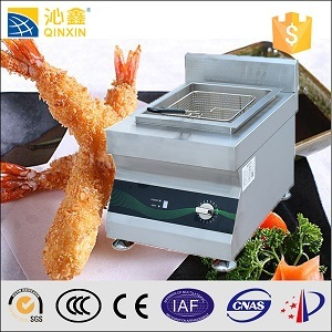 Hot Sell 10L Digital Temparture Control Tabletop Induction Fryer pictures & photos