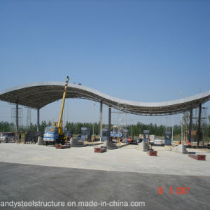 Low Cost and Easy Installation Space Frame Roofing for Toll Station pictures & photos