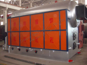 Hot Water Boiler with Biomass Fuel Single Drum Chain Grate Hot Water Boiler pictures & photos