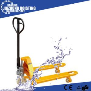 Hand Operated Hydraulic Pallet Jack pictures & photos