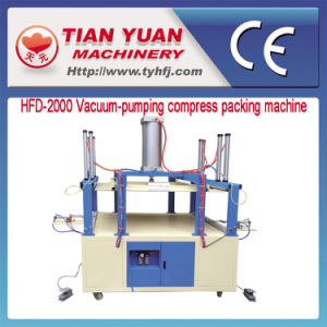 Air Evacuation Pillow Compress Packing Machine pictures & photos