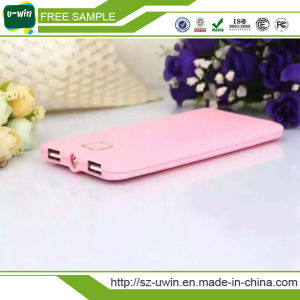 Slim Credit Card Power Bank Portable Charger for Smart Phone pictures & photos