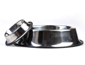 Charms Stainless Steel Dog Silicone Bowl pictures & photos
