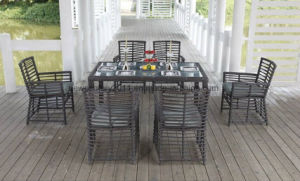 Garden New Design Rattan Dining Table and Chair pictures & photos