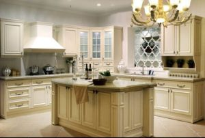 American Style (white) Kitchen Cabinet pictures & photos