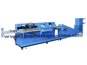 Label Ribbon Automatic Screen Printing Machine with Ce, SGS Certificate pictures & photos