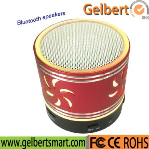 LED Mini Metal Wireless Speaker Bluetooth Sound Bar pictures & photos