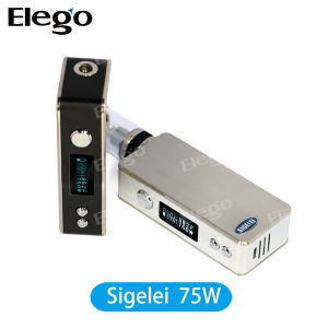 Newest E-Cigarette Sigelei 75W Temp Control Mod for 18650 Battery pictures & photos
