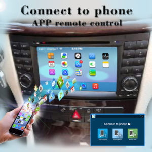 Carplay Anti-Carplay Android 7.1-2+16g for Benz Cls/Clk Car DVD Player GPS Navigation pictures & photos