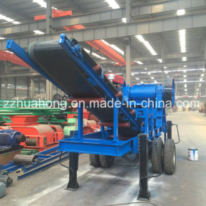 Mobile Stone Jaw Crusher Crushing Plant pictures & photos