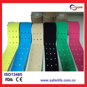Kinesiology Tape with Holes for Sports pictures & photos
