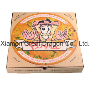 Locking Corners Pizza Box for Stability and Durability (PB160608) pictures & photos