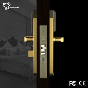 Smart RF Card Doors Locks with 260PCS Unlock Records for Hotel/Home/Office pictures & photos