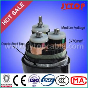 Medium Voltage Cable 15kv Aluminum Cable 3X95mm with Ce Certificate pictures & photos