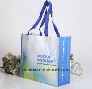 Cheap Reusable PP Woven Shopping Bag with Colorful Printing