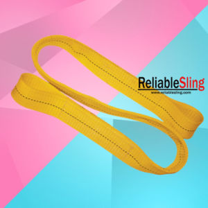 Heavy Duty Lifting Polyester Webbing Sling/Lifting Belt pictures & photos