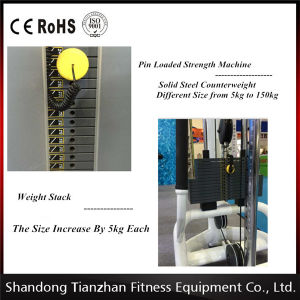 Commercial Fitness Equipment/Seated Chest Press Tz-6005 pictures & photos