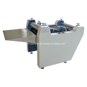 Semi-Automatic Calendar Cover Folding Machine Yx-600 pictures & photos