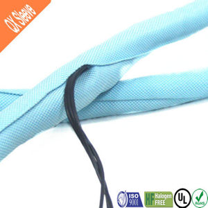 Flexo Braided Self-Wrap Sleeve for Wire Harnesses pictures & photos