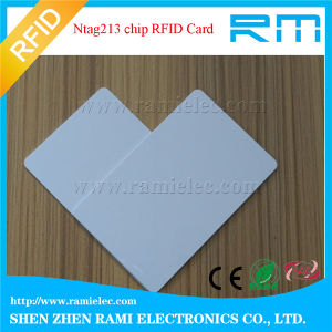 13.56MHz RFID Smart Card Blank White Card for Access Control pictures & photos