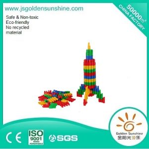 Children Plastic Toy Intellectual Building Brick Toy with CE/ISO Certificate