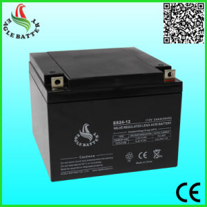 12V 24ah Mf Sealed Lead Acid Battery for Medical Equipment pictures & photos