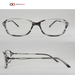 High Quality Wood Acetate Optical Frames (M15136)