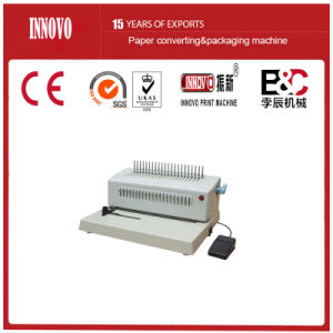 Comb Book Binding Machine (ZX-2088B) pictures & photos