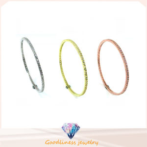 Wholesale Simple & Fashion Jewelry 925 Silver Politeness Bangle (G41281) pictures & photos