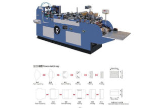 Western Style Envelope Making Machine (ZF-530) pictures & photos