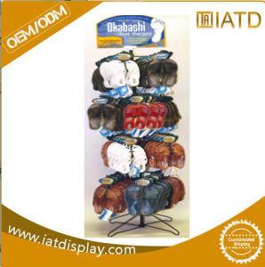 Floor Standing Spinning Hat Display Rack pictures & photos