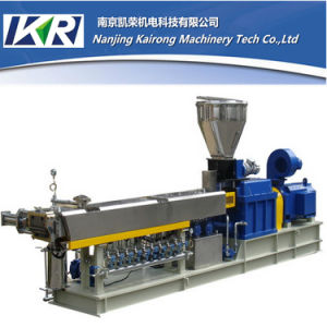 CE Certificate Foaming Plastic Masterbatch Twin Screw Extruder Machine Price pictures & photos