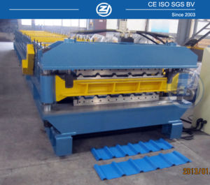 Metal Profile Sheet Making Machine Double Layer Roll Forming Machine pictures & photos