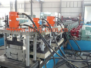 Steel Channel Perforated Cable Tray Roll Forming Production Machine Iran pictures & photos