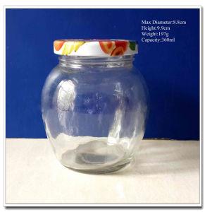 Honey Glass Jar / Jam Glass Jar