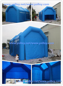 Portable Temporary Inflatable Auto Hair Repair Workstation pictures & photos