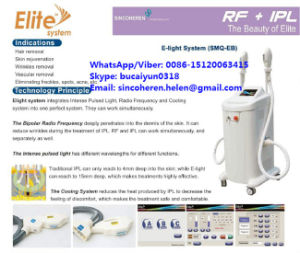 Hair Removal Eligt Machine ISO13485 Approved Hair Removal Machine pictures & photos