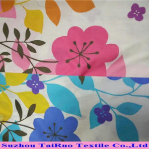 Printing Waterproof Pongee Fabric with Colorful for Jacket pictures & photos