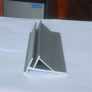 Triangle Aluminum Extrusion Profile CNC Deep Processing pictures & photos
