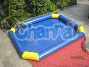Rectangle Octagon Shape Inflatable Swimming Pool (CHW310) pictures & photos