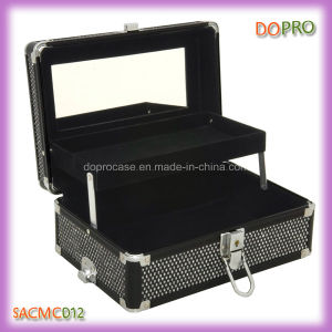 2 in 1 Glitter Outlook Professional Cosmetic Makeup Case (SACMC012)