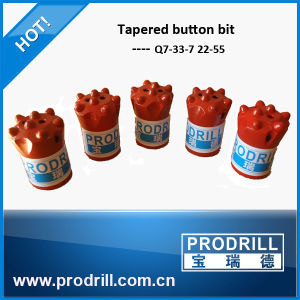 Tapered Button Bit in Stone Quarry pictures & photos